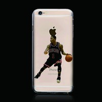 BasketBall Fans Favourite PC materials Famous Basketball Player Phone Case for iphone 6 personality case