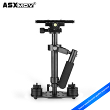 Hot sale factory direct price mini RED Color steadycam steadicam stabilizer with top quality sponge handle
