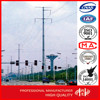 Outdoor 30FT-60FT 16M Electric Steel Power Poles for Philippines