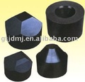 2-facet tungsten carbide anvil tools for diamond application