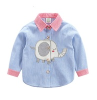 MJ TAILORED COTTON STRIPE LOVELY KID SHIRT