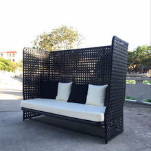 Resin Wicker Cheap Garden Sun Loungers for Sale Beach Lounger Sofa Lounge Chairs