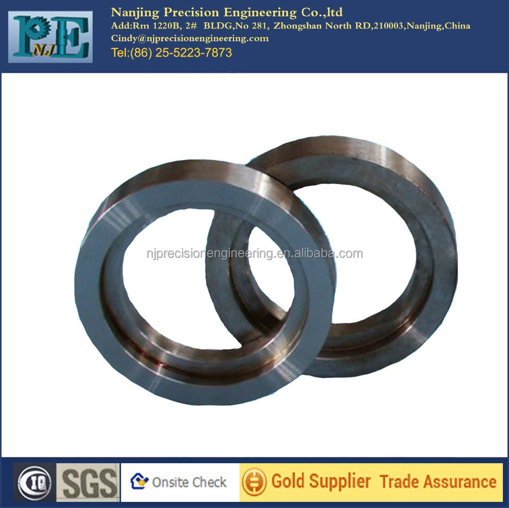 High precision tungsten cnc turning rings for auto <strong>part</strong> from Nanjing