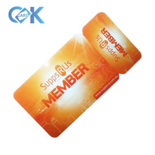 Plastic 3 Snap-off non Standard <strong>Card</strong> Size as Membership <strong>Cards</strong> With Best Price