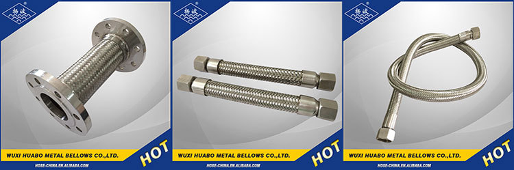 Simple structure of yang bo universal expansion joints with rods