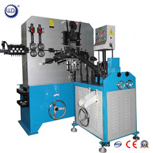 Automatic Metal Wire Threaded J / U Hook Making Machine with PLC