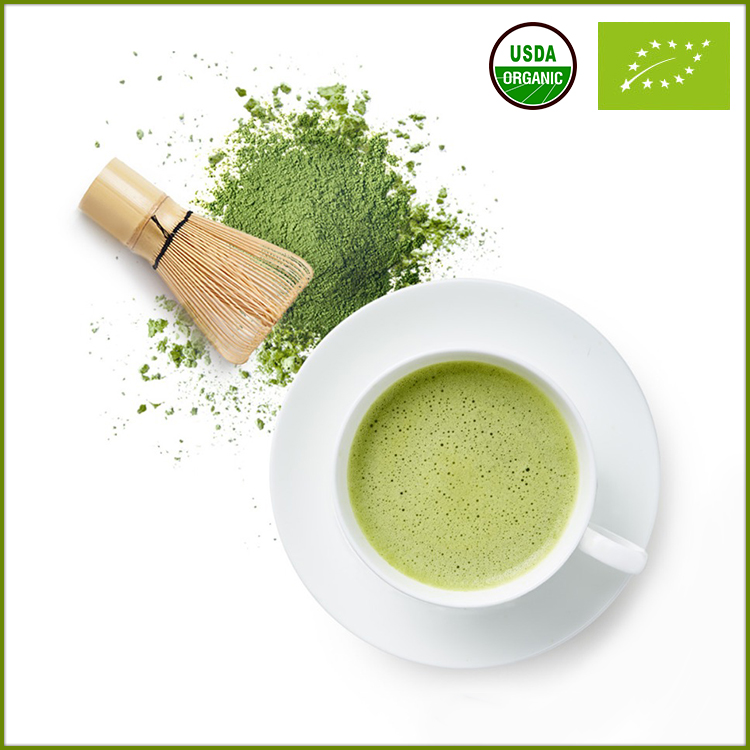 Various Grades Japanese Teas Powder Organic Matcha Tea For Food Additive
