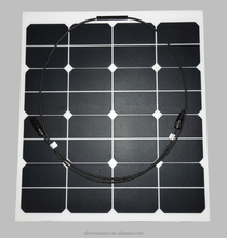 50W 12V Small Transparent Flexible Solar Panel with High Efficiency etfe solar panel