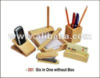 Promotional Gift - 6 in 1- Mobile, Pen, Card ,Letter Pad,Paper cutter n stapler