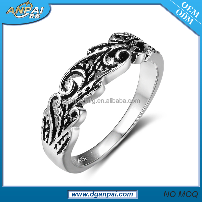 2017 classical latest yemeni aqeeq men 952 silver ring design jewelry for women