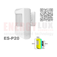 ES-P20 human body detecting High sensitivity wireless wall sensor