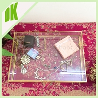 Vintage Glove Box, glass display tie storage box, home makeup jewelry felt storage box