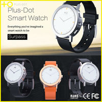 Shenzhen Top Selling edible silicon strap smart wrist watch with social relations app notifications