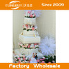 Hot sale professional customized wedding dummy cake / fake birthday cake for window display