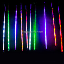 Factory Price Christmas Wedding Garden Xmas Lights Multi-color 50CM 2835SMD LED Meteor Shower Rain Tubes