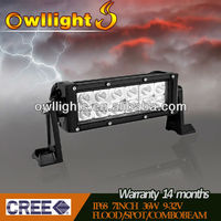 "4x4 Accessories 7.5"" 36W LED Light Bar/LED Driving Light Bar /LED Off Road Light Bar guangzhou auto parts"