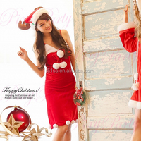 Santa christmas dress for girl