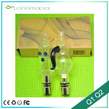 Newest glass water filteration vaporizer glass bubbler glass pipes for sale