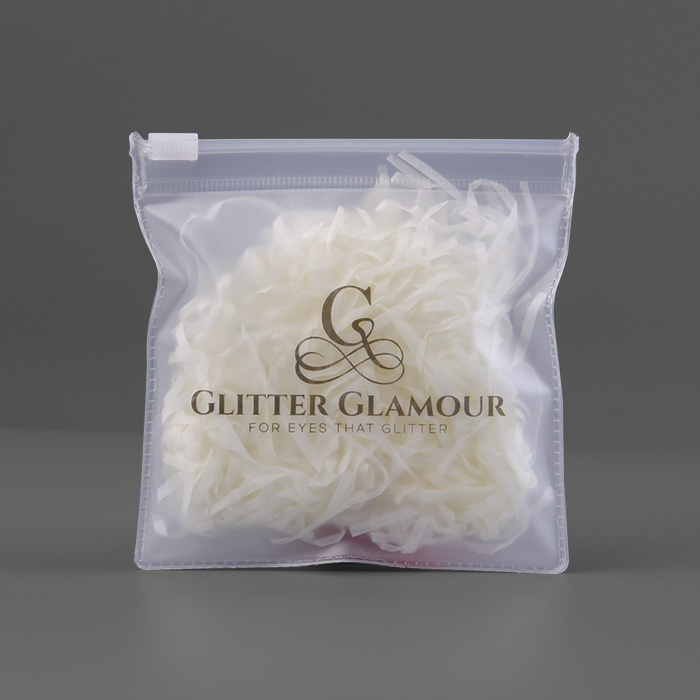 Sinicline custom made resealable jewelry earphone pvc clear plastic bags