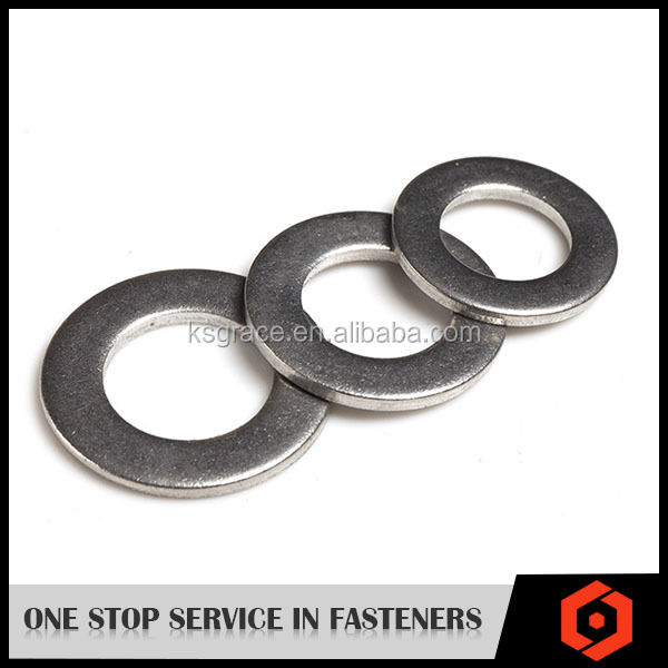 OEM China Manufacturer Metal Plain Washer DIN125 Flat Lock Washer For Bolts