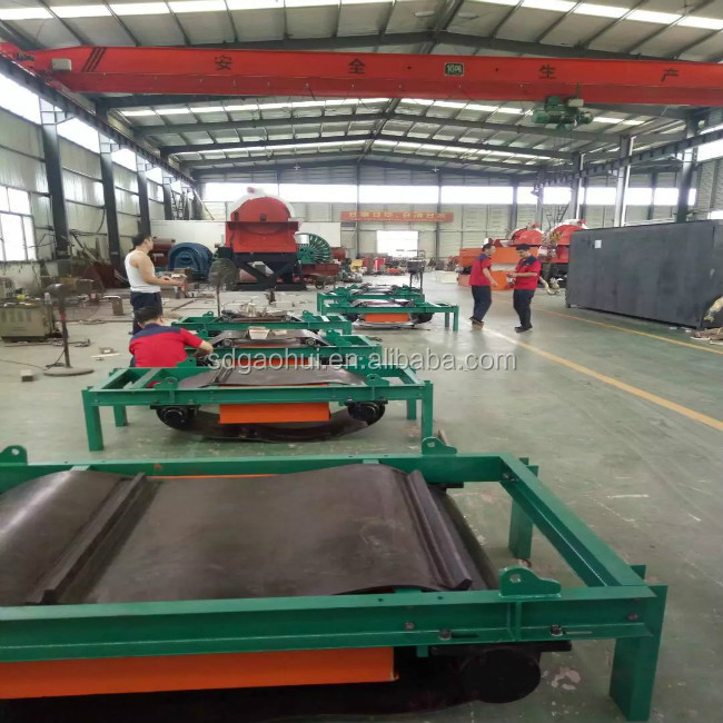 RCYD Self-Cleaning Permanent Magnetic Separators for iron ore mining processing