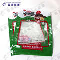 transparent custom printed snack pouch for spicy dried tofu