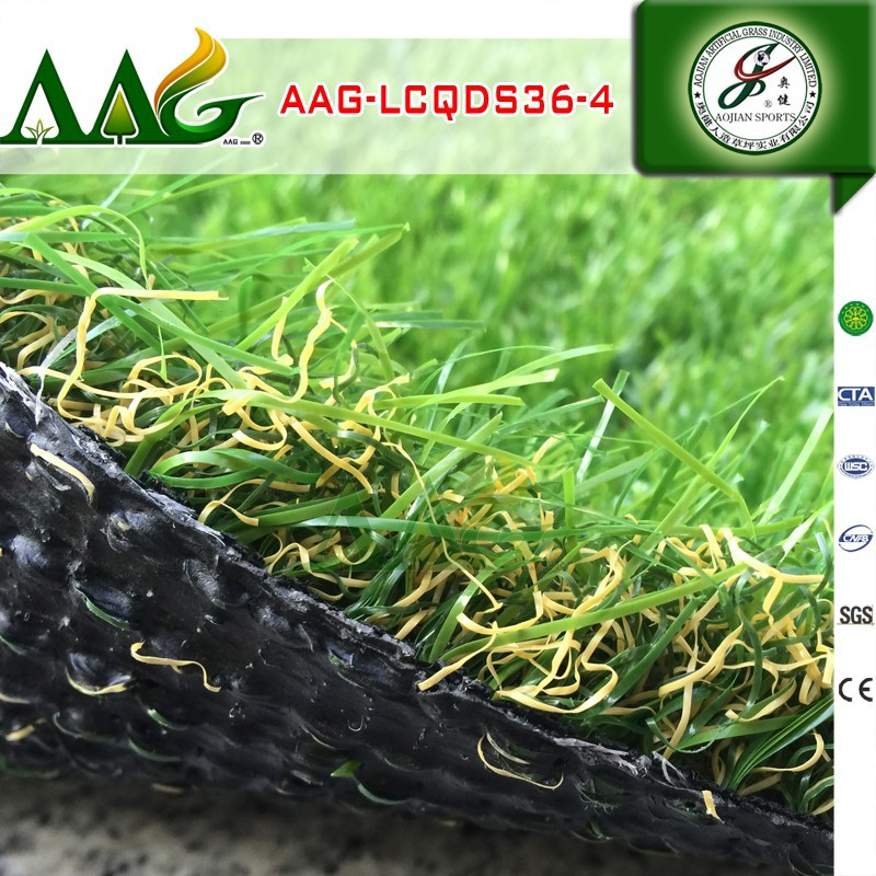 Artificial grass for mini football field non infill turf