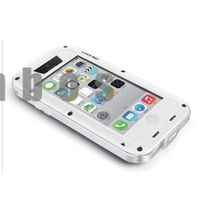 Love Mei Waterproof Shockproof Metal Aluminum Gorilla Cover Case for iphone 5 5S