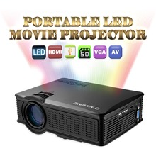1500 Lumens SD50 Plus Portable LCD Mini home theater projector hd 1080p better than unic uc40 UC46 projector