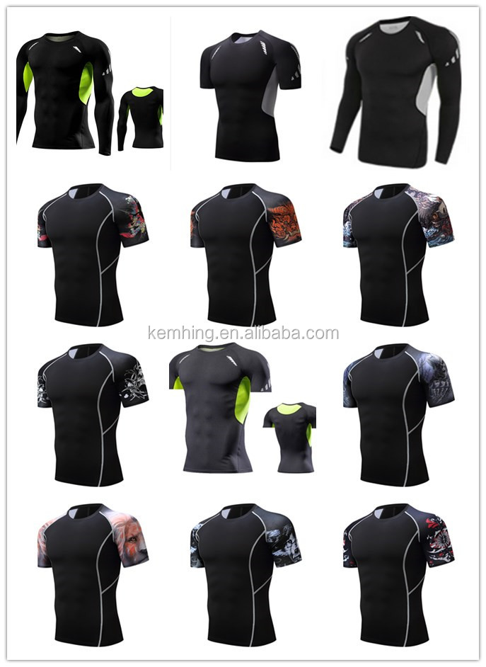 new design quick dry sport wear fitness jersey polyester breathable short sleeve sports wear men football