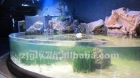 Big size aquarium fish tank