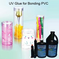 Clear UV Glue for Plastic Box Packing