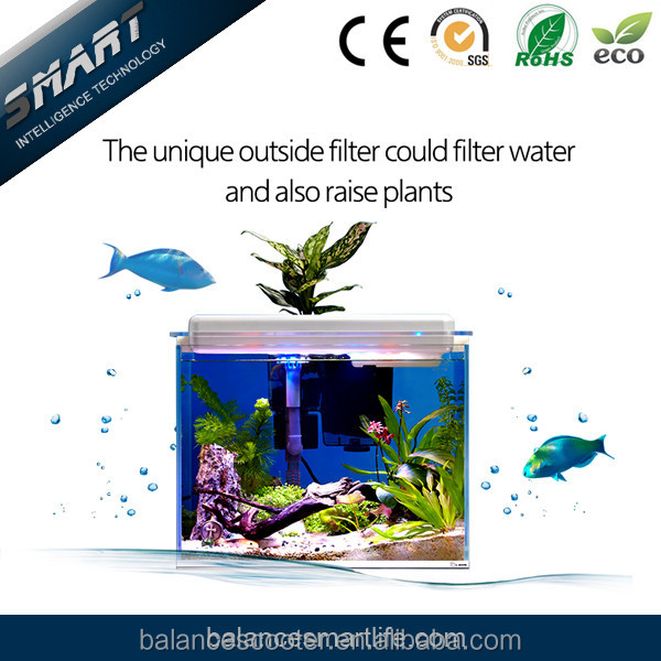 Hot sale new product fiber aquarium led lighting artificial coral aquarium fish tank