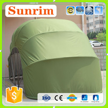 Anti-flame retardant material superb garage cover portable folding car shelter