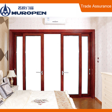Aluminum iron safety door sliding gates beautiful design