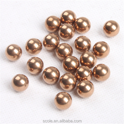 H62/65 solid brass ball copper ball 0.5mm to 50mm