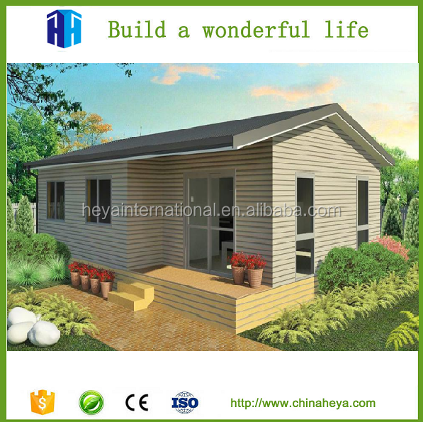 Pre made steel structure sandwich panel ASA cement house