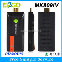 2015 best selling smart android tv stick B2GO MK809IV RK3188 Quad Core samsat 560 tv dongle