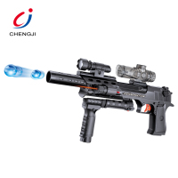 Battery operated metal toy electric soft crystal bullet weapons gel ball water gun