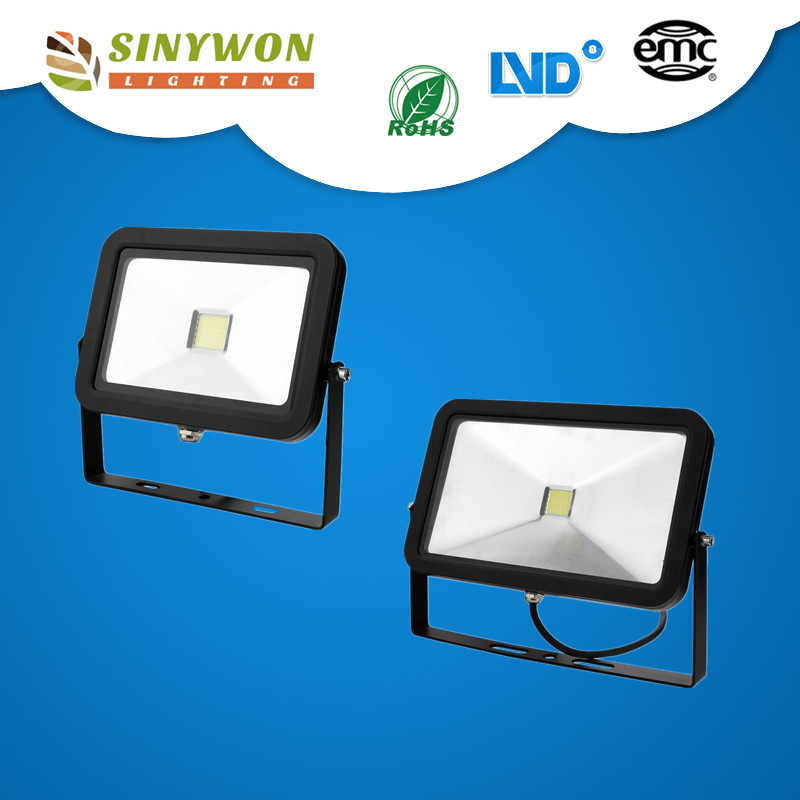 New IPAD Shape, ultra thin black, slim portable project use COB 30w 50w Led Floodlight