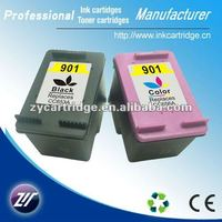 Tri-color compatible ink cartridges for hp 901