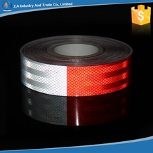 Chinese Supplier Red White Prismatic Conspicuity Adhesive Dot C2 Truck Reflective Sticker Tape