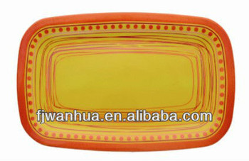 Melamine tray designs