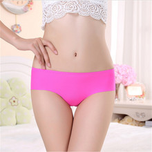 Custom 2016 sey plus size underwear women seamless panties women lingerie LY800