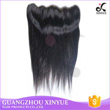 China wholesale high quality lace frontal 13x8 india classic hair piece for girls