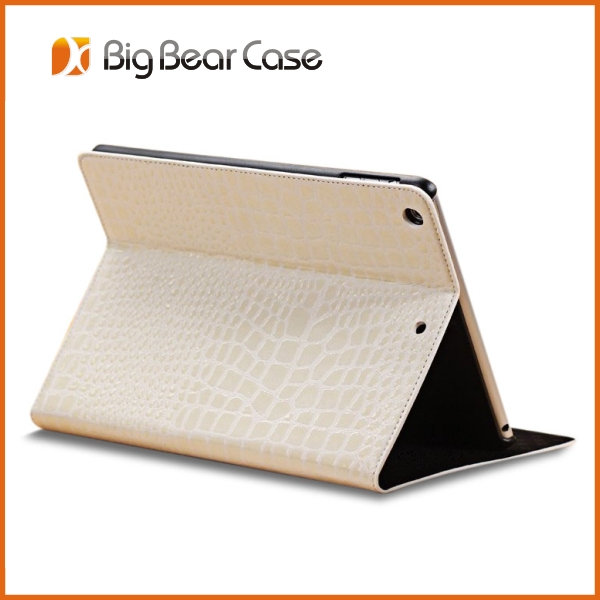 Multi-function 360 rotating leather case for ipad air coach case for ipad air