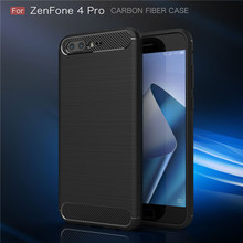 For Asus Zenfone,high quality carbon fiber tpu cell phone cove case for Asus Zen Fone 4 Pro