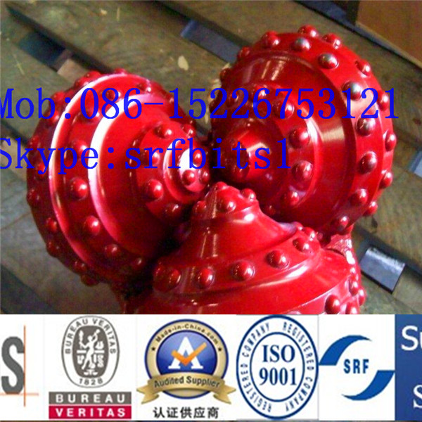 API & ISO 6 1/4 IADC 637 air tricone bits ,oil and gas drilling tool equipment