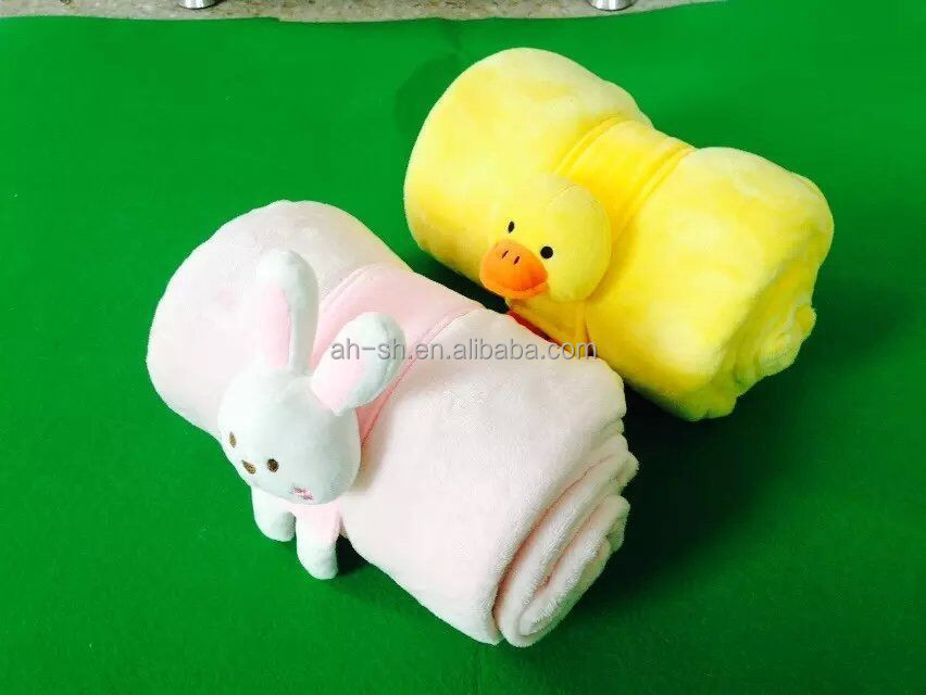animal plush blanket stuffed toys