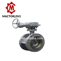 Electric Actuato PN16 blue epoxy butterfly valve Full PTFE seal ring